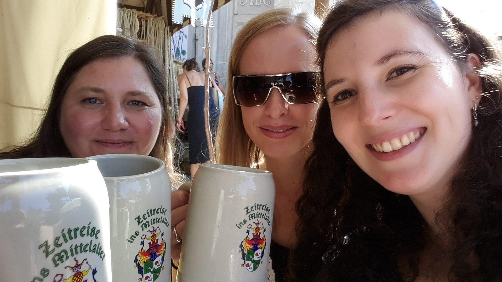Bier danach