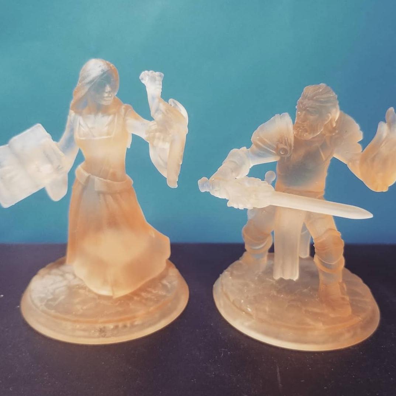 Miniaturen Nora und Keldan